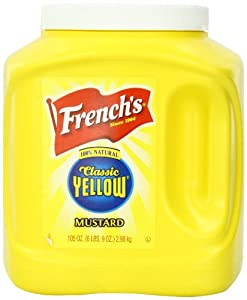 French's Mustard Jar, Classic Yellow, 105 Ounce