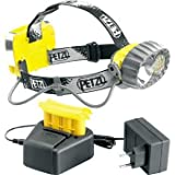 Petzl Duo LED 14, Accu yellow/black headlamp