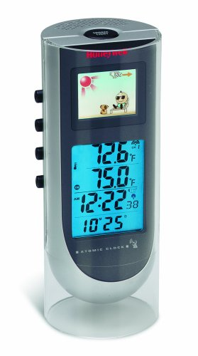 Honeywell TE601CELW Color Weather Forecaster with Indoor/Outdoor Thermometer