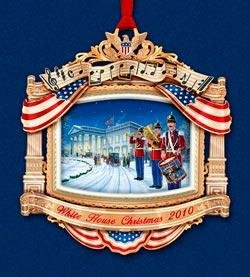 2010 White House Annual Christmas Ornament – William Mckinley