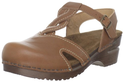Sanita Women's Ruby Clog,Camel,38 EU/7.5-8 M US