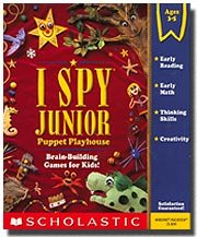I Spy Junior Puppet Playhouse [Old Version]