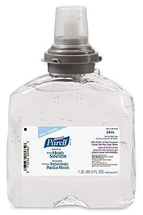 PURELL  5456-04 TFX Refill, - Advanced Gel Hand Sanitizer (1200 mL) - 4 Pack