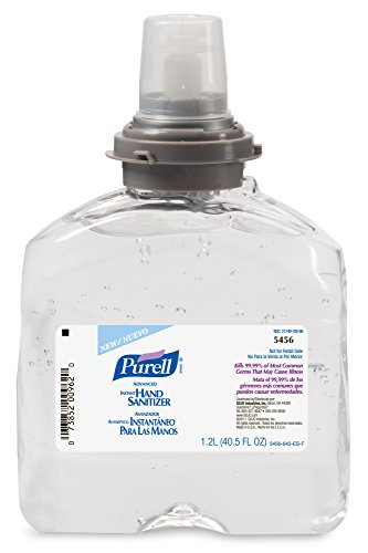 Purell TFX Refill, 5456-04 - Advanced Gel Hand Sanitizer (1200 mL) - 4 Pack (Purell Dispenser Refill compare prices)