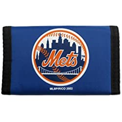 New York Mets Nylon Trifold Wallet