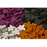 100 piece Mini Meeple Set suitable for use with Lords of Waterdeep
