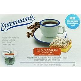 Entenmann's Cinnamon Crumb Cake Capsule/K Cup 10 Pack