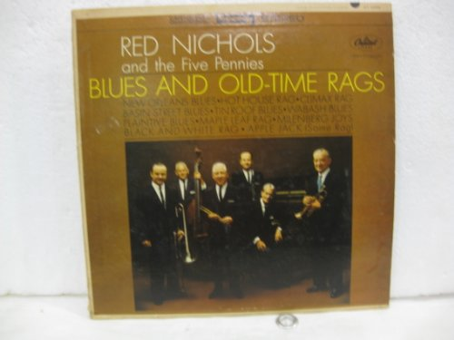 Red Nichols And The Five Pennies Blues And Old-Time Rags Vinyl