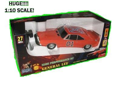 Buy DUKES OF HAZZARD GENERAL LEE 1969 DODGE CHARGER 1:10 SCALE RADIO CONTROL R/C CAR HUGE