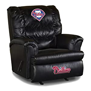 Buy MLB Philadelphia Phillies Big Daddy Leather Recliner by Imperial