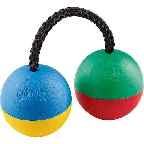 NINO Plastic Ball Shakers Harlekin - 1