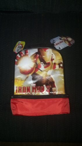 Iron Man 3 Thermos Soft Lunch Bag - 1