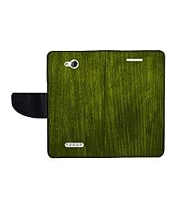 KolorEdge Printed Flip Cover For HTC Desire 616 Multicolor - (50KeMLogo11942HTC616)