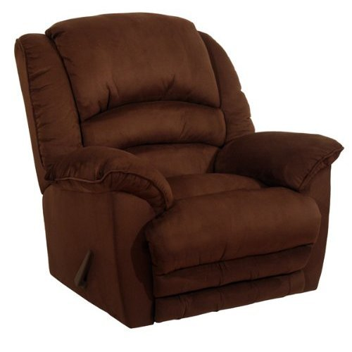 Revolver Chaise Recliner Color: Chocolate