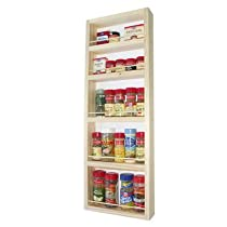 On the Wall Spice Rack Size: 28