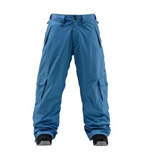 Herren Snowboard Hose Foursquare Wong Pant bluebird XS