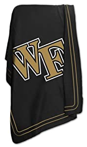 Click here to buy NCAA Wake Forest Demon Deacons Classic Fleece Blanket by Logo.