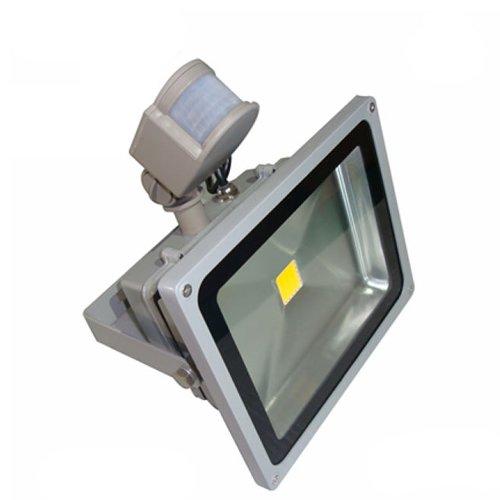 50W-SMD-LED-Flutlicht-Fluter-Strahler-Auenbeleuchtung-Innenbeleuchtung-Warmweiss-IP65-Wasserdicht-mit-Bewegungsmelder