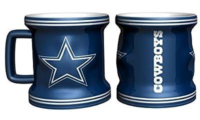 Dallas Cowboys Sculpted Mini Mug Shot Glass