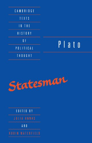 Plato: Statesman, ed. Julia Annas and Robin Waterfield (Cambridge Texts in the History of Political Thought)