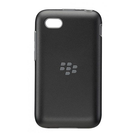 BlackBerry OEM Premium Shell Case Cover for BlackBerry Q5 - Black/Granite