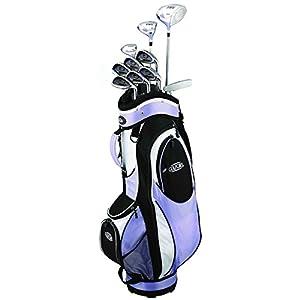 Golf Girl FWS2 Lady Hybrid Club Set & Cart Bag