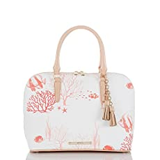 Vivian Dome Satchel<br>Red Reef