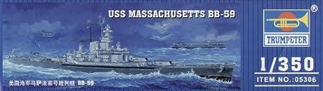 Trumpeter 1:350 - USS Massachusetts BB-59