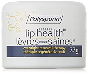 Polysporin Visible Lip Health Overnight Renewal Therapy, 7.7 G