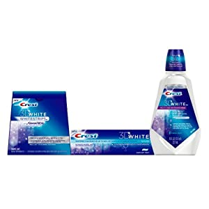 Crest 3D White Professional Whitening Pack, Gift With Purchase