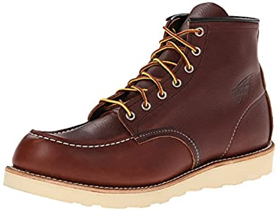 Red Wing Shoes Men's Classic 6 Inch Work Moc Toe Boot 08138-1, 6.5