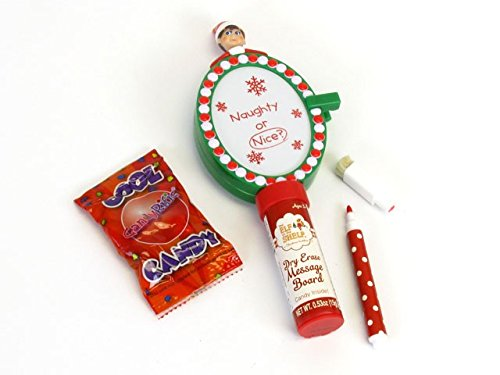 The Elf on the Shelf Naughty or Nice Dry Erase Message Board with Candy - 1
