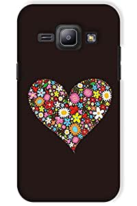 IndiaRangDe Case For Samsung Galaxy J1 Printed Back Cover