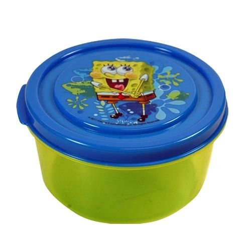 Spongebob Snack N Store Food Storage Container