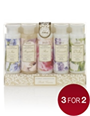 Floral Collection Bath Creams Gift Set