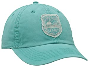 Life is good Women's Canvas Get Out Chill Cap, Aqua Blue, One Size