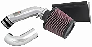 K&N 69-2021TP Typhoon Air Intake Kit, Short Ram, Polished