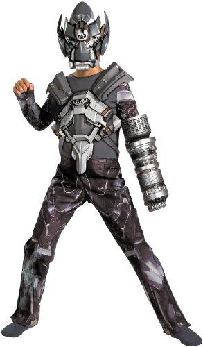 Iron Hide Movie Deluxe Costume - Medium (7-8)