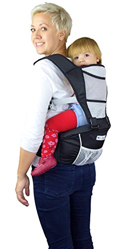 Baby-Carrier-Original-Breathable-Soft-Structured-Front-2-Back-Hip-Support-Multi-Position-Sling-With-Adjustable-Straps