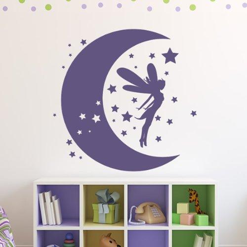 hada-luna-pegatinas-de-pared-arte-de-pared-hada-disponible-en-5-tamanos-y-25-colores