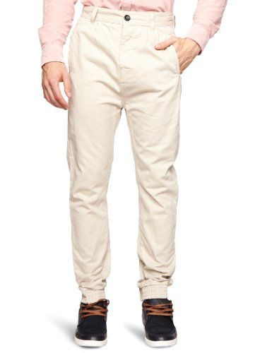 Bellfield MTRS-11181NS Slim Men's Trousers New Stone W34 INxL31 IN