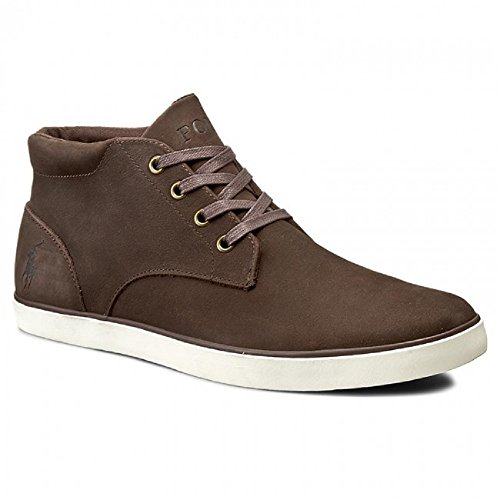 POLO RALPH LAUREN SNEAKERS UOMO [DC025 A2003 ODIE] - 43, MARRONE