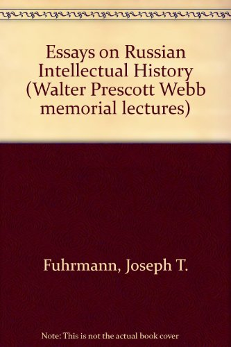 Essays on russian intellectual history