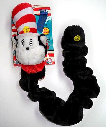 Cat in the Hat Bungee Dog Chew Toy
