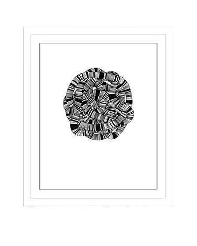 "Jaime Derringer ""Sandworm I"" Artwork on Framed Paper"