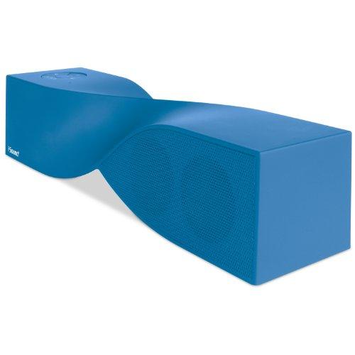 Isound Twist Bluetooth Wireless Mobile Speaker (Rubberized Blue)