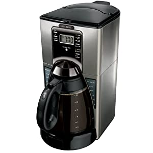 Mr. Coffee FTXSS43GTF 12-Cup Programmable Coffeemaker, Stainless Steel