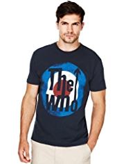 Blue Harbour Pure Cotton Music Icon T-Shirt