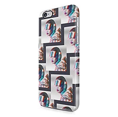 Rihanna Futuristic Eyewear Pattern iPhone 6 Plus & iPhone 6S Plus Hard Plastic Phone Case Cover