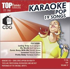 Avril Lavigne - Avril Lavigne, Norah Jones and Vanessa Carlton Top Tunes Karaoke CDG Vol. 37 TT-196 - Zortam Music